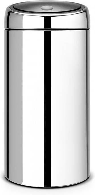 Duo Afvalbak 40 Liter Brabantia.Brabantia Twin Bin Afvalverzamelaar 40 Liter 2x20 L Glans
