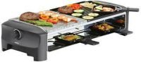 - Princess 162820 Raclette 8 Stone & Grill Party