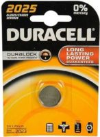 - Duracell Professional Lithium knoopcel batterij CR2025 3V