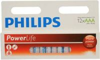 - Philips PowerLife Alkaline AAA batterijen 12 stuks
