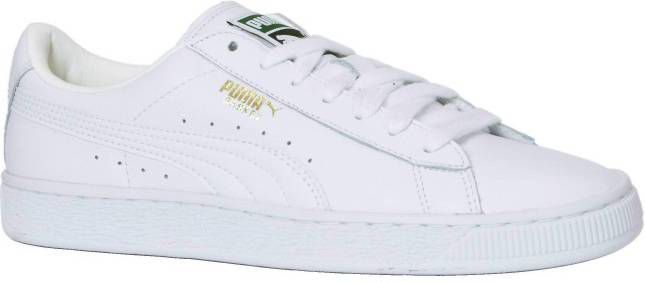 wholesale dealer 63735 8651e Puma 354367 Heritage Basket 17 White Sneaker